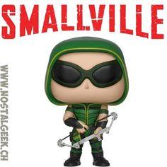 Figurine Funko Pop DC Smallville Green Arrow geek suisse shop noel