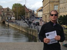 Don Rodriques carried his copy on vacation to Hamburg, Germany!