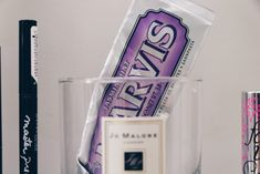 Purple Beauty Marvis Jo Malone Urban Decay AHAVA MAC Benefit Maybelline Jo Malone, My Beauty, Energy Drinks, Urban Decay, Maybelline, Benefit, Mac, Purple, Products