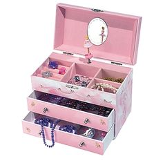 Angel Wooden Musical Ballerina Jewelry Box Music boxes Ballerina