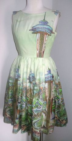 Seattle World's Fair dress.1962