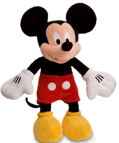 Disney Store Mickey Mouse Large Premium Plush Stuffed Doll Ultra Soft NWT NEW #Disney