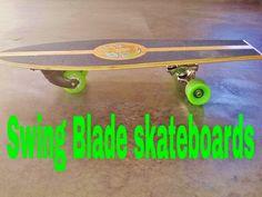 Swing Blade skateboards by Dennis Wells — Kickstarter