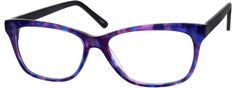 Women's Purple 3081 Acetate Full-Rim Frame With Spring Hinges | Zenni Optical Glasses-EhZ5UmBb