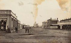 Main Street of Horsham Victoria 1886