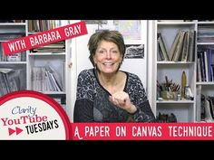 Ever wondered how Barb creates those amazing canvas boards at her shows and on TV? Well today, Barb's secrets are revealed as to how this amazing yet simple . Barbara Gray Blog, Stamp Making, Card Making, Gelli Plate Printing, Canvas Board, Canvas Pictures, Art Techniques, Clarity, How To Find Out