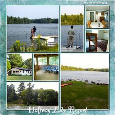 Halfway Lake Resort is located in Newberry Michigan. They are a small family owned business that offers private cottages for families on a mostly private lake. They are clean, roomy, and have full kitchens in each cabin so you can cook during your vacation. They have fishing boats, canoe's, and many other great amenities for you to use.