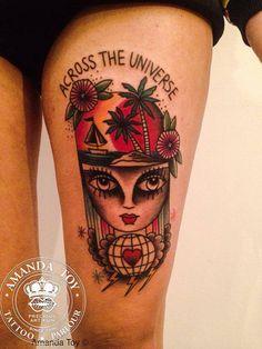 follow the colours tattoo friday amanda toy 02 #tattoofriday Amanda Toy
