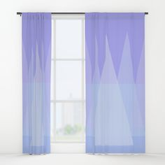 "Your drapes don't have to be so drab. Our awesome Window Curtains transform a neglected essential into an awesome statement piece. They're crafted with 100% lightweight polyester, and thick enough to block out some light - just slip your rod into the 4"" pocket and you're good to go. All curtains are a single-sided print and measure 50"" x 84"". Available in single or double panel options. Machine wash cold (no bleach!) and tumble dry low."