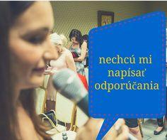 """Video s radami - Aby vás Netrápilo, že """"Nechcú Mi Dať Odporúčania""""  http://www.martinalamosova.sk/nechcu-mi-dat-odporucania/"""