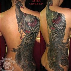 Back coverup inspiration
