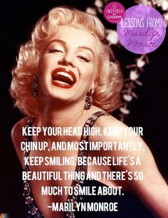 inspired by charm: Lessons From: Marilyn Monroe Girl Quotes, Woman Quotes, Live And Learn Quotes, Motivational Words, Inspirational Quotes, Rupaul Quotes, Marilyn Monroe Wallpaper, Marilyn Monroe And Audrey Hepburn, Inspired By Charm