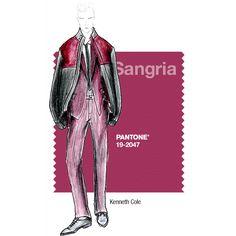 PANTONE Fashion Color Report – Fall 2014 – Sangria – Kenneth Cole