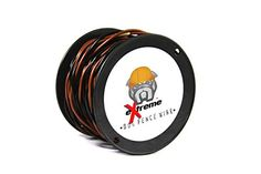 100ft Spool 16AWG Heavy Duty Solid Core Twisted Dog Fence Wire Compatible with all Brands -- Click image for more details.