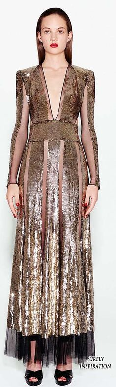 Alexander McQueen PF2016 Women's Fashion RTW | Purely Inspiration