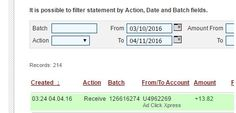 I WORK FROM HOME less than 10 minutes and I manage to cover my LOW SALARY INCOME. If you are a PASSIVE INCOME SEEKER, then AdClickXpress (Ad Click Xpress) is the best ONLINE OPPORTUNITY for you Here is my Withdrawal Proof from AdClickXpress. I get paid daily and I can withdraw daily. Online income is possible with ACX, who is definitely paying - no scam here.