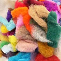 Простой и быстрый способ окраски шерсти для валяния в домашних условиях