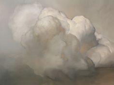 Cloud #44, 2010, Ambera Wellmann, Oil on wood panel18 x 24 inchesUmbrella Arts