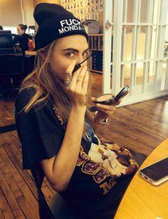 F Mondays #model #Cara #Delevingne