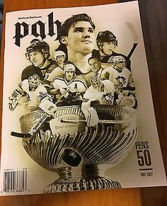 ac1ef14353082f Pittsburgh Penguins 2016 Stanley Cup Champions 50th Anniversary Magazine  Pittsburgh Sports, Pittsburgh Penguins, Penguin
