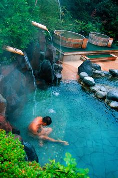 Hakone Kowaki-en Yunessun Spa Resort, Hakone, Japan