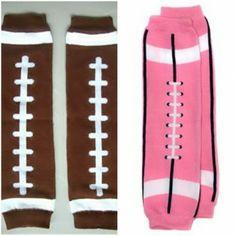 Baby Leg Warmers Football Baby Legs   Price: $5.99