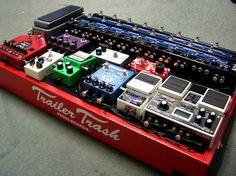 Trailer Trash pedal board