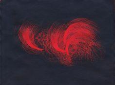 Fireworks, Cyanotype