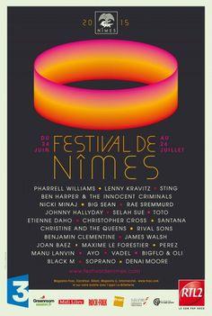Le programme définitif du Festival de Nîmes 2015