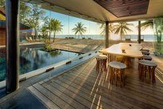 Modern Beach Villas Inspired by the Waves of the Ocean - My Modern Met