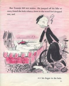 The Busiest Boy in Holland, by Lisl Weil (1959) | Sweet Juniper's Vintage Kids Books