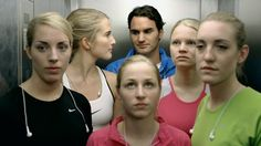 Ikonik nike commercial from 2009 - Men vs Woman featuring Federer, Torres, Ibrahimovic, Longoria, Boutella. Men Vs Women, Nike Women, Anuncio Nike, Get On Up, Nike Inspiration, Nike Ad, Eyes On The Prize, Best Ads, Motivational Videos