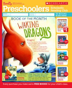 It's the October 2013 Scholastic Reading Club Flyer for Preschoolers!