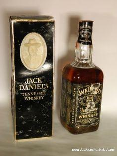 "Vintage JACK DANIELS in CAMEO BOX, SEALED, 4/5, Box & Label damage for sale www.LiquorList.com  ""The Marketplace for Adults with Taste!""  @LiquorListcom  #LiquorList"