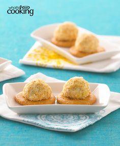 Artichoke-Cheese Puffs #recipe