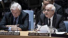 El enviado palestino a la ONU promete utilizar cualquier medio diplomático a su disposición si Trump cumple la promesa de trasladar la misión de Tel Aviv