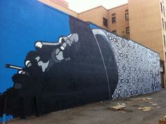 A new mural buy David Flores and OBEY Giant. Go check it out for yourself in person here.