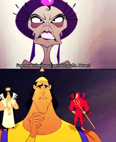 Kronk is awesome