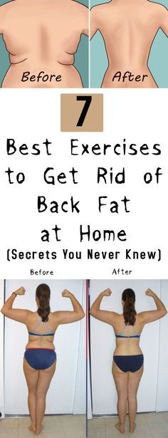 7 Best Exercises to Get Rid of Back Fat at Home | Posted By: AdvancedWeightLossTips.com