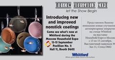 Good morning #Moscow  #HouseHoldExpo! We're ready to meet you at Stand D602! Discover the complete line of #nonstick #coatings and find out more about #Xylan & #solutions #bakewares  #cookwares #nonstick #coating