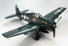 """Hobbymaster 1:32 Grumman F6F-5 Diecast Model Airplane HA0301 This Grumman F6F-5 Hellcat `MINSI III` (Cdr David McCampbell - US Navy USS Essex 1944) Diecast Model Airplane features working propeller. It is made by Hobbymaster and is 1:32 scale.  General Background  The F6F Hellcat was basically designed as the """"Zero Killer"""". It could fly about an average 55 mph faster than the Zero and it was heavier and more powerful than the Zero. The Hellcat also had the highest kill ratio of any American…"""
