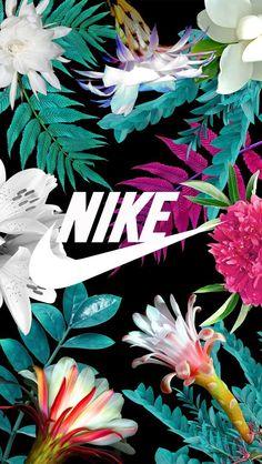 Nike de flores