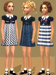 3 Shirley Temple Dresses