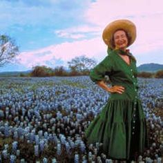 Lady Bird Johnson, First Lady of wildflowers