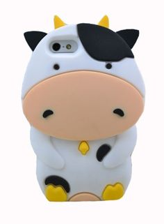 BYG White 3D Cute Cartoon Ox Cow Silicone Soft Case Cover for Apple Iphone 4 4S 4g + Gift 1pcs Phone Radiation Protection Sticker cattle,http://www.amazon.com/dp/B00ELPAZ2I/ref=cm_sw_r_pi_dp_GK8Ksb0ZB452F783