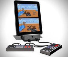 Transform iPad & iPhone into Retro Video Game Console