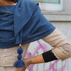 Details of flake...discover our shawl on shop.marinafinzi.com #marinafinzi #MadeinItaly #Monza