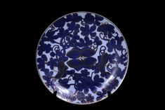 Porcelain Blue And White Wall Plate
