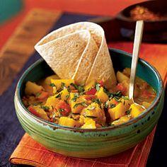 Potato Roti Curry