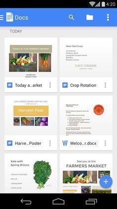 Google Docs- screenshot
